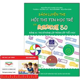 Combo khóa học lập trình Scratch 3.0 Nâng cao và sách luyện thi tin học trẻ cấp Tiểu học