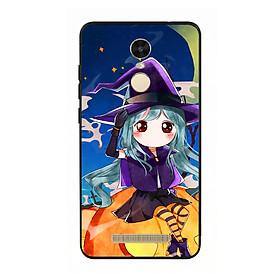 Hình đại diện sản phẩm Ốp lưng Halloween viền TPU cho điện thoại Xiaomi Redmi Note 3 - Mẫu 04