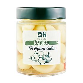 NATURAL Tỏi Ngâm Giấm 150g - Dh Foods