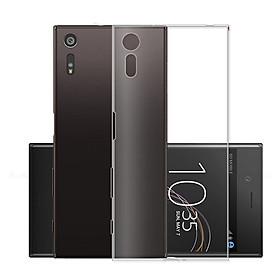 Ốp lưng silicon dẻo trong suốt dành cho Sony Xperia XZ - Hàng cao cấp