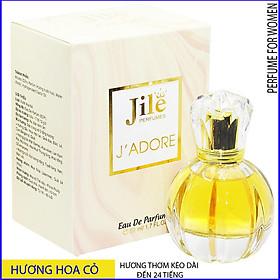Nước hoa nữ cao cấp chính hãng Jile J'adore 50ml phù hợp với phụ nữ ưa thích phong cách quý phái, thanh lịch