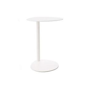 Bàn để chậu bông trang trí sân vườn ban công EASY BOY TABLE 40 cm màu trắng