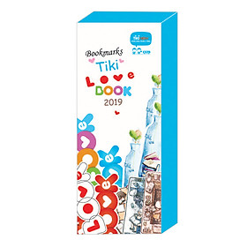 Hộp Bookmark Tiki Love Book 2019