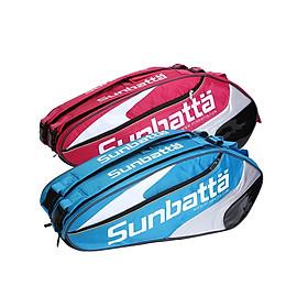 Túi vợt cầu lông/ tennis 2 ngăn Sunbatta BGS 2121