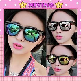 Kính mắt tráng gương thời trang đi nắng KM12 siêu đẹp