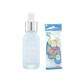 Tinh Chất Cấp Ẩm Và Làm Sáng Da 9 Wishes Hydra Skin Ampule Serum 25ml + Tặng kèm 1 Túi lưới rửa mặt tạo bọt-0