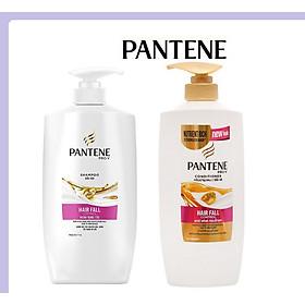 Combo Dầu gội Pantene ngăn rụng tóc 650G + Dầu xả Pantene ngăn rụng tóc 650G