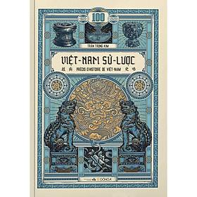 Việt Nam Sử Lược - Trần Trọng Kim (Bìa Cứng) Tặng bookmark Vadata