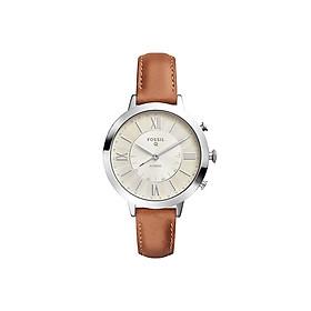Đồng hồ thông minh nữ Fossil Hybrid Smartwatch Jacqueline  dây da FTW5012 - màu nâu