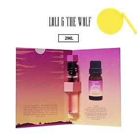 Nước hoa vùng kín nữ - Honey Valley Eau De Parfum - chai lăn 2ml- LOLI & THE WOLF, Tặng Kèm Mút Rửa Mặt