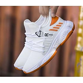 Giày nam, giày thể thao sneaker vải dệt siêu thoáng khí, phong cách trẻ trung QA323