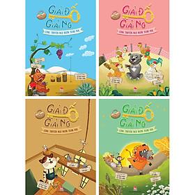 Combo 4 Tập: Giải Đố Giải Ngố Cùng Truyện Ngụ Ngôn Toán Học