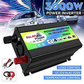 3000W Boat Car Converter Power Inverter DC 12V to AC 220V USB Charger