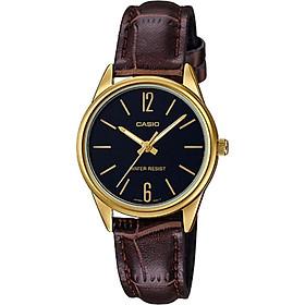 Đồng hồ nữ dây da Casio LTP-V005GL-1BUDF