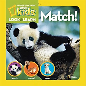 Hình đại diện sản phẩm National Geographic Little Kids Look and Learn: Match
