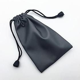 Túi vải dù chống nước đựng phụ kiện kính mát kính bơi (Màu đen)