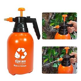 Bình Xịt Phun Sương 2L. Thân Hộp Nhựa Siêu Nhẹ, Siêu Chịu Lực, Siêu Dày. Áp suất phun nước mạnh phù hợp để Tưới cây, rửa, vệ sinh cho các phương tiện.