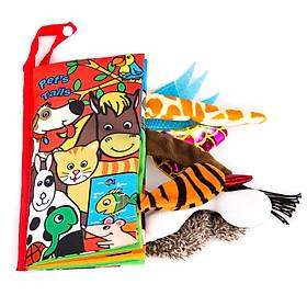 Sách vải trẻ em (Giao hình ngẫu nhiên)