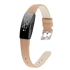 Bracelet Wrist Belt Inspire Pure Color Printing Leather Strap for Fitbit Inspire HR
