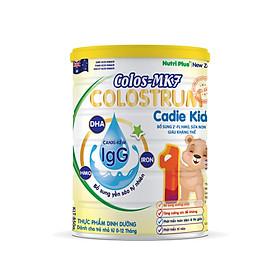 Sữa bột dinh dưỡng Colos Mk7 CADIE KIDS bổ sung dưỡng chất, tăng cường sức đề kháng, phát triển trí não cho trẻ từ 0-12 tháng NUTRI PLUS- 900G