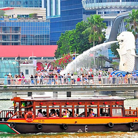 Vé Singapore River Cruise