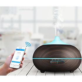 Máy khuếch tán bí ngô wifi thông minh kết nối app phun sương tạo ẩm lọc khí tạo hương xông tinh dầu Aramacs 550ml-2