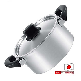 Nồi inox có tay cầm Tsubame 3.2 lít - Hàng nội địa Nhật Bản