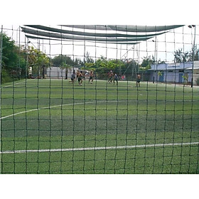 Lưới rào sân bóng sợi cước PE 2.5Ly