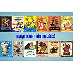 Combo 12 cuốn truyện tranh thiếu nhi Liên Xô