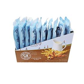 Hộp 10 túi nước gạo buổi sáng hạnh nhân và đậu phộng WOONGJIN Hàn Quốc 190ml/túi