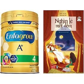 Combo 1 Lon Sữa Bột Enfagrow A+ 4 830g Tặng Truyện Nghìn Lẻ Một Đêm