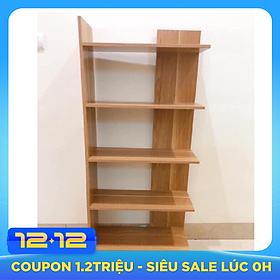 kệ sách đa năng 5 tầng bằng gỗ tiết kiệm không gian kích thước 1m2 x 50 cm