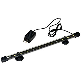 Đèn LED siêu sáng CAIBAO T4-40LED dùng cho bể cá, hồ cá mini 40 - 50 cm ( Màu trắng)
