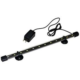 Đèn LED siêu sáng CAIBAO T4-30LED dùng cho bể cá, hồ cá mini 30 -40 cm ( Màu trắng)