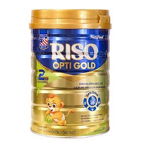 Sữa bột Nutifood RISO OPTI GOLD 2 (900g) - dinh dưỡng đặc chế giúp hệ tiêu hóa khỏe mạnh cho trẻ từ 6 đến 12 tháng tuổi