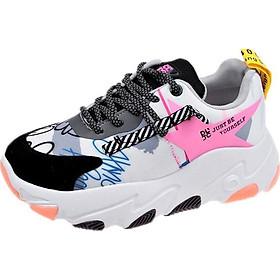 Giày thể thao nữ đế dày thời trang Hàn