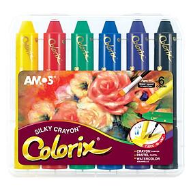 Hình đại diện sản phẩm Bút Màu Trang Trí 3 trong 1 Colorix AMOS ACXS (6 Màu)