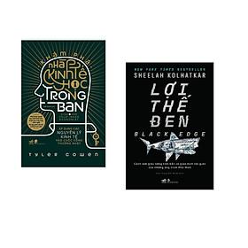 Combo 2 cuốn sách: Khám phá nhà kinh tế học trong bạn - Áp dụng các nguyên lý kinh tế vào cuộc sống thường nhật + Lợi thế đen