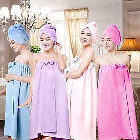 Váy quây Spa chất microfiber cao cấp