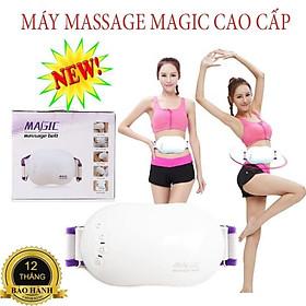 Đánh tan mỡ bụng, Máy mát xa bụng, Đai massage Magic cao cấp, giúp đánh tan mỡ thừa, lưu thông máu tốt- SALE 50%