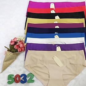Combo 10 quần lót nữ Su đúc không đường may, hàng đẹp loại tốt, vải thun lạnh, co giãn đàn hồi tốt, không gây khó chịu khi mặc,đồ lót nữ vải lạnh phù hợp mọi lứa tuổi