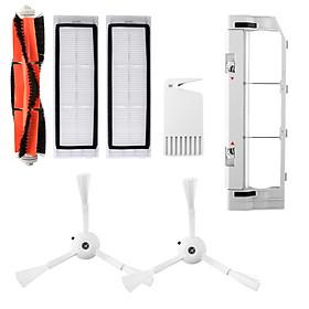 Bộ Dụng Cụ Vệ Sinh Tấm Lọc Máy Hút Bụi Xiaomi Roborock S55 S50 S51 (7 Cái)