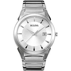 Bulova Men's Classic Stainless Steel Dress Watch