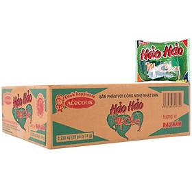 Mì hảo hảo chay rau nấm thùng 30 gói 65g