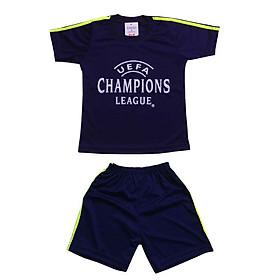 Bộ đồ thể thao dành cho trẻ em, Áo đấu bóng đá dành cho bé trai và bé gái từ 12-40kg