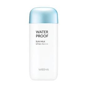Kem Chống Nắng Chống Trôi MISSHA All Around Safe Block Waterproof Sun Milk SPF50+/PA++++