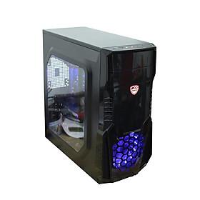 Case PC Building Gaming chơi Game, Live Streamer, thiết kế đồ họa, làm văn phòng, Youtube chuyên nghiệp 4TechGM02 2019, cây máy tính PC cấu hình cao chiến Games online offline hay trên thế giới(Chiến thuật, trí tuệ, nhập vai) 24h không giật, lag. - Hàng Chính Hãng.