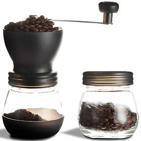 Manual Coffee Grinder Coffee Bean Grinders Maker Ceramic Coffee Container Coffee Grinder Coffee Maker