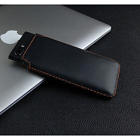 Bao Da Túi Rút dành cho Blackberry Key2 LE Da Bò nappa