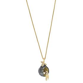 Dây Chuyền Galatea Jewelry Galaxia Pearl MOTHERSLOVEYT - Đen